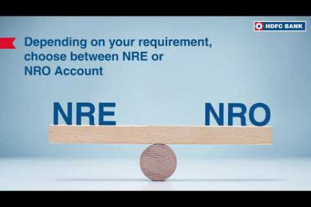 How to Open NRI Account Instantly with HDFC Bank Infographic
