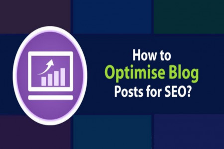 How to Optimise Your Blog Posts for SEO Infographic