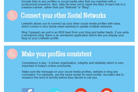 How To Optimise Your LinkedIn Profile For Recruiters Infographic