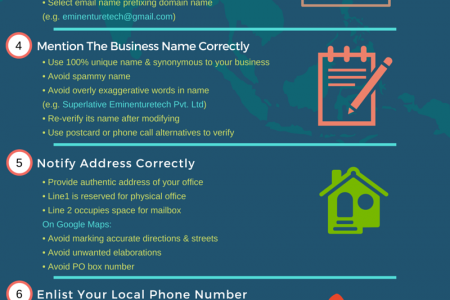 How to Optimize Google My Business Page for Pitching? Infographic