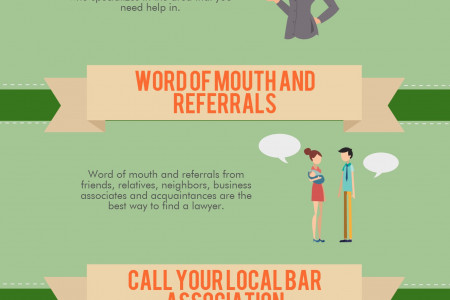 How To Pick The Right Lawyer Infographic