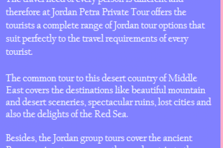 How To Plan A Perfect Trip To Jordan? Infographic