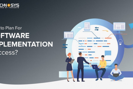How to Plan For Software Implementation Success Infographic