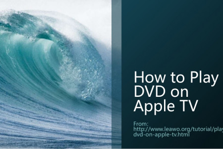 How to Play DVD on Apple TV Infographic