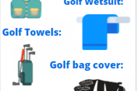 How To Play Golf In The Rain Infographic