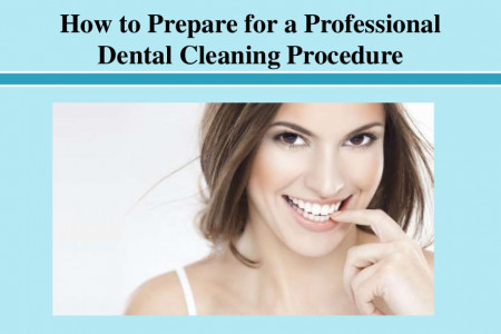 How to Prepare for a Professional Dental Cleaning Procedure Infographic