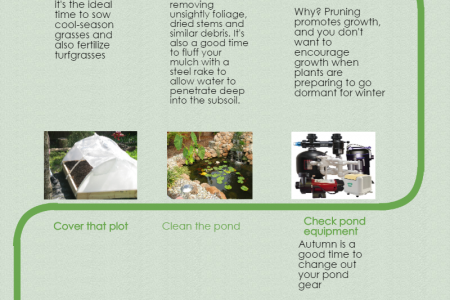 How To Prepare Your Lawn and Garden For Fall Infographic