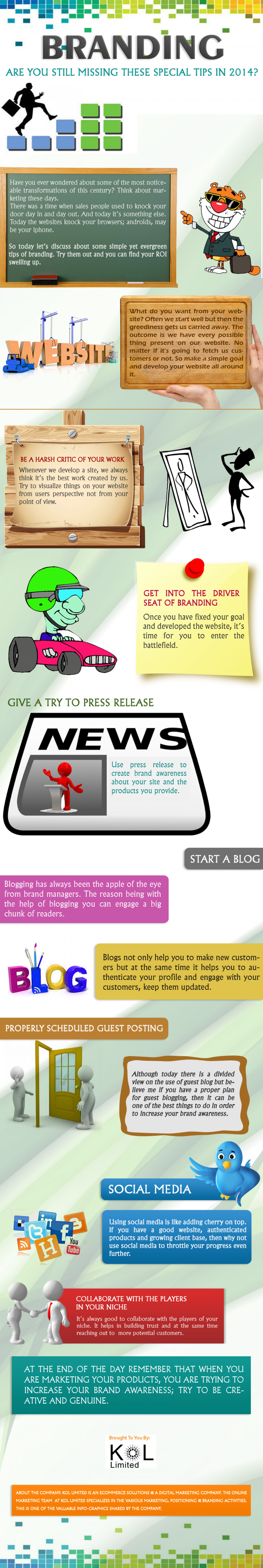 How to Promote your Brand in 2014 ? Infographic