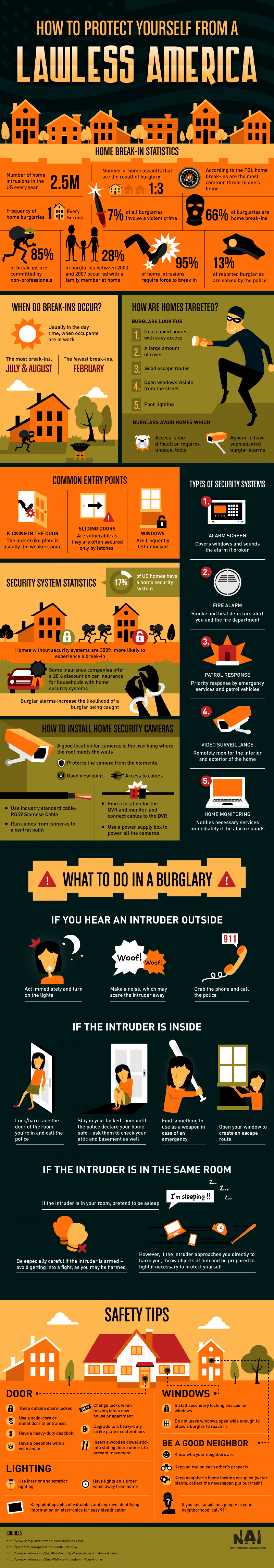 How To Protect Yourself From A Lawless America Infographic