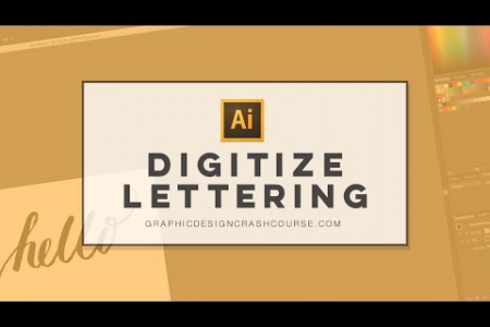 How to quickly digitize hand lettering in Adobe Illustrator | Image Trace Tool  Infographic