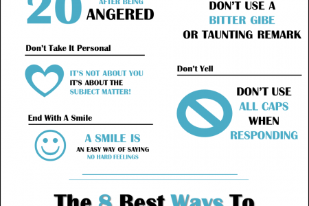 How to Respond to Negative Comments On Social Media and Blog Post Infographic