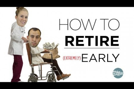 How To Retire Early - Jinnie Mathurin Infographic