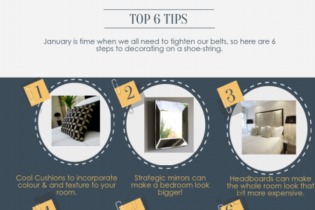 How to Revamp Your Bedroom on a Budget  Infographic