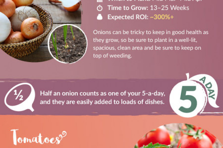 How to Save Money Growing Vegetables at Home Infographic
