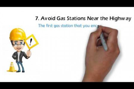 How To Save Money on Gas Infographic