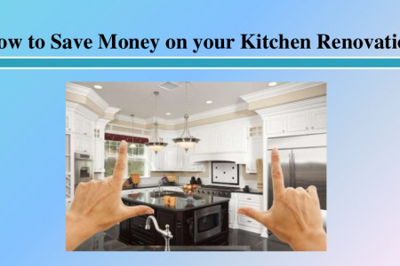 How to Save Money on your Kitchen Renovation Infographic
