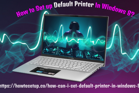 How to Set Default Printer In Windows 8? Infographic