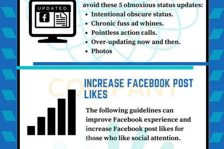 How to Socialize on Facebook Without Sounding Salesy Infographic