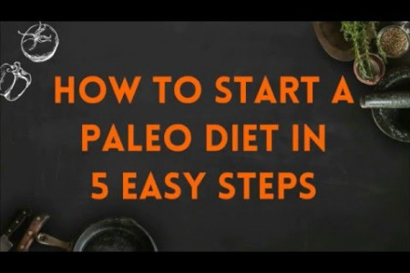 How to Start a Paleo Diet in 5 Easy Steps Infographic