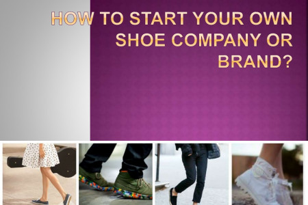 How To Start Your Own Shoe Line Infographic