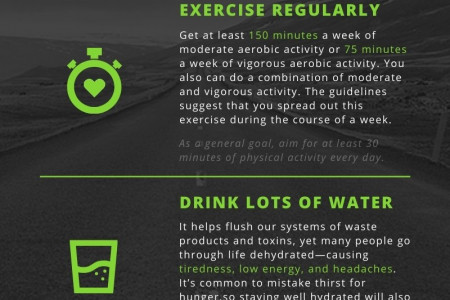 How to Stay Fit While Working From Home Infographic