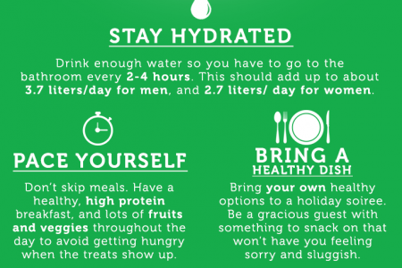 How to Stay Healthy During the Holidays Infographic