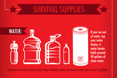 How To Survive In Your Home During An Emergency Infographic