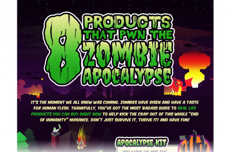 How to Survive the Zombie Apocalypse Infographic