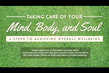 How to Take Care of Your Mind, Body, and Soul Infographic