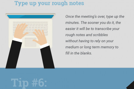 How to take effective meeting minutes Infographic
