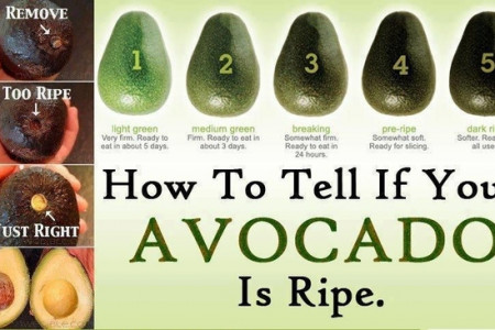 How to Tell if Your Avocado Is Ripe  Infographic