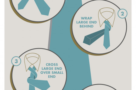How to Tie a Tie Infographic