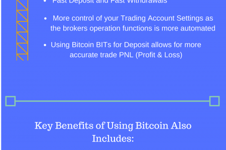 How to Trade Forex With Bitcoin Infographic