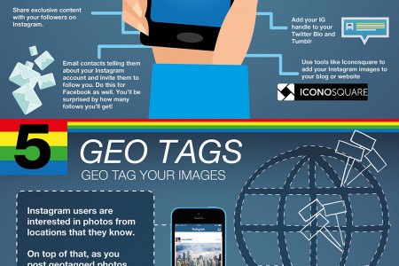 How to Treble Your Instagram Following Infographic
