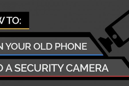 How to Turn Your Phone into a Security Camera Infographic