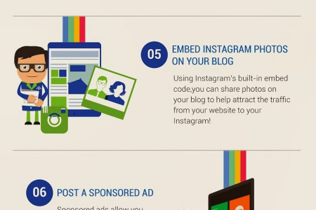 How To Use Instagram For Businesses Infographic