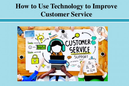 How to Use Technology to Improve Customer Service Infographic