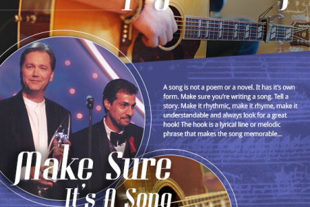 How to Write a Hit Song Infographic