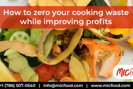 How to zero your cooking waste while improving profits Infographic