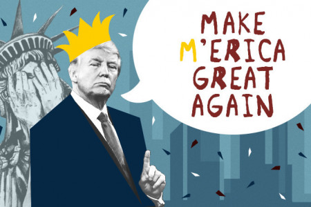 How Trump Will Make America Great Again? Infographic