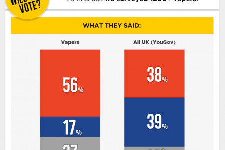 How will vapers vote in the EU referendum? Infographic