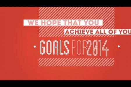 How you can Achieve your goals in 2014 Infographic