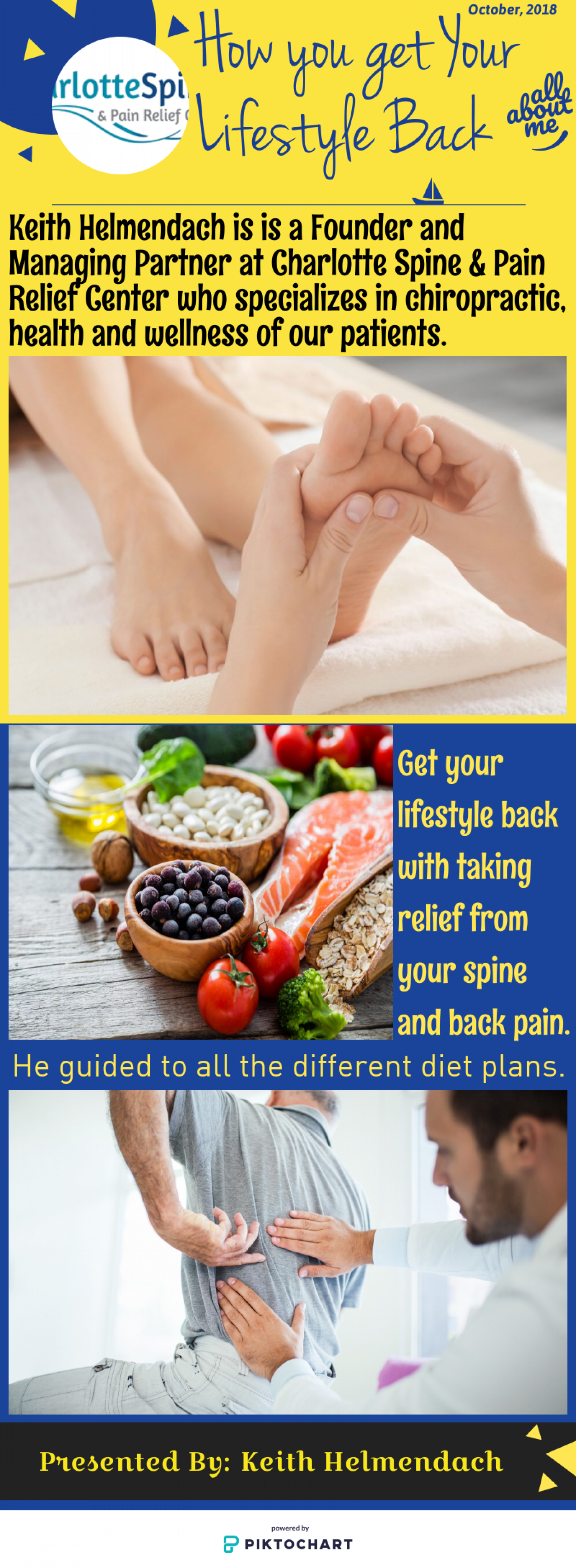 How you get Your Lifestyle Back- Keith Helmendach Infographic