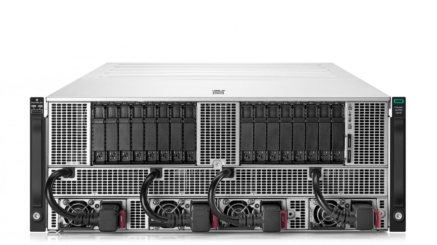 HPE Apollo 6500 Gen10 System Infographic