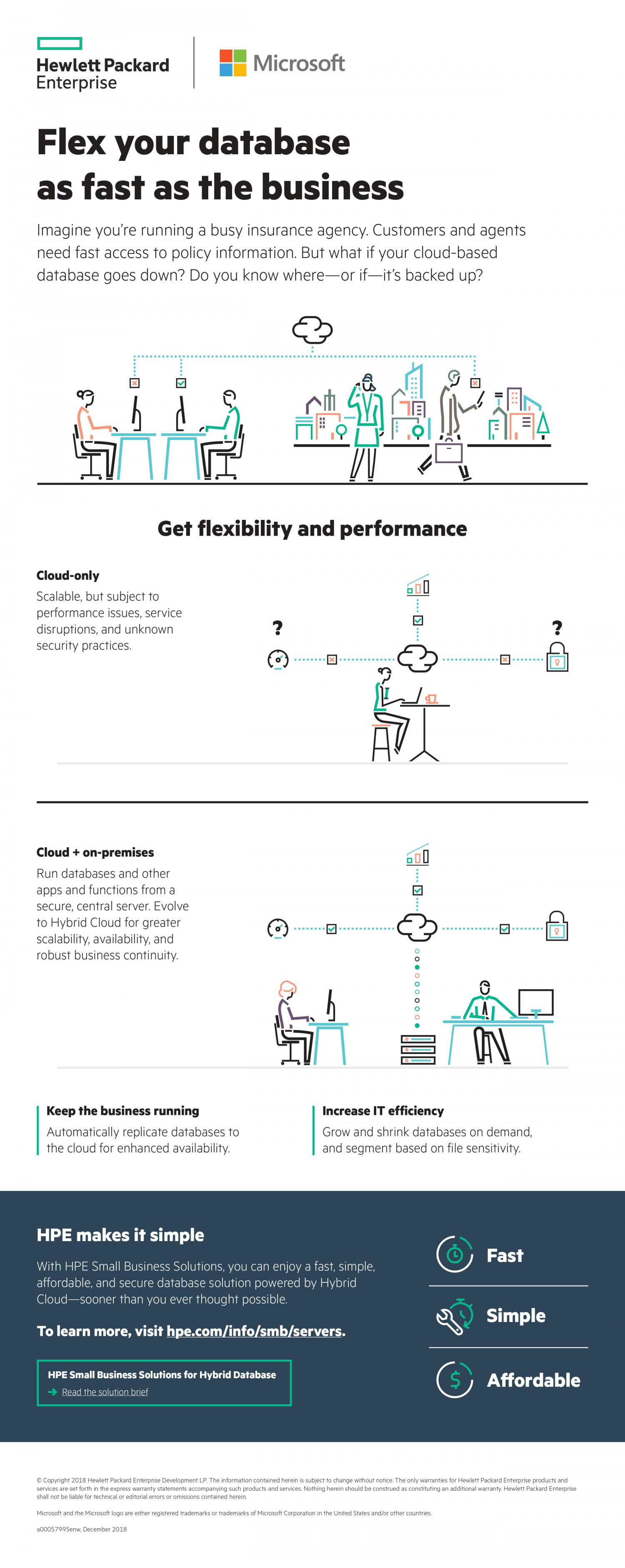 HPE Small Business Solutions   IT Solutions Infographic