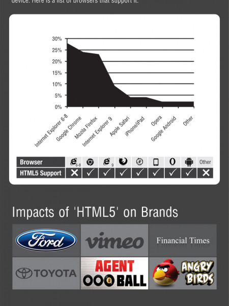 HTML5-For Marketer Infographic