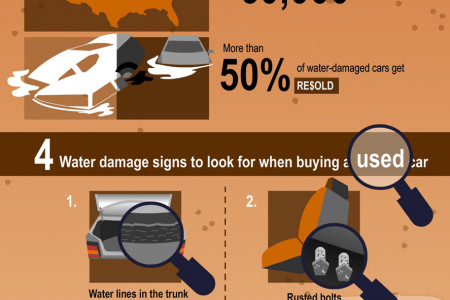 Hurricane Sandy and Cars Infographic
