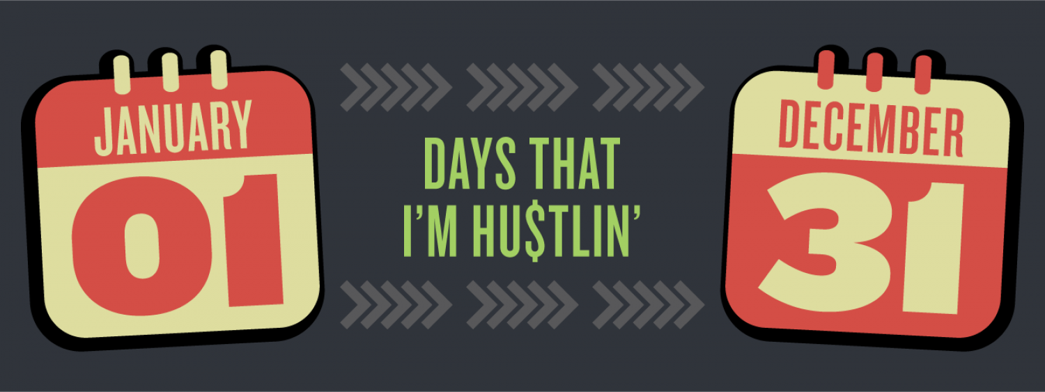 Hustlin' Infographic