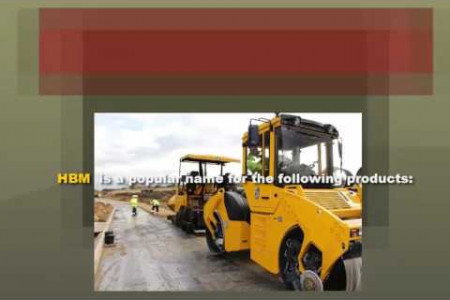 Hydraulically Bound Material  Infographic