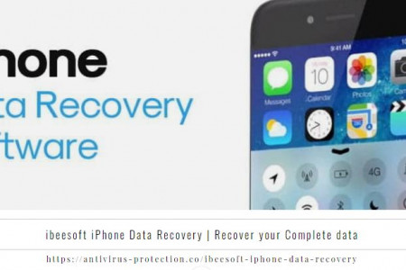 ibeesoft iPhone Data Recovery | Recover your Complete data Infographic